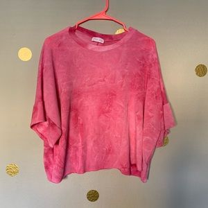 Pink Lily top